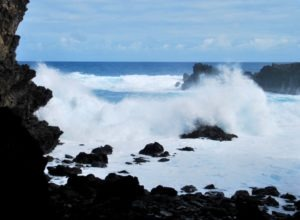 Easter Island waves
