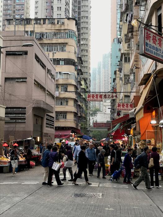 Streets of Mong Kok
