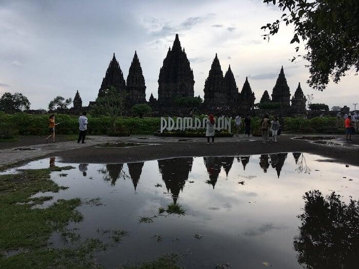 Yogyakarta Itinerary. Prambanam one of the Temples in Borobudur Indonesia
