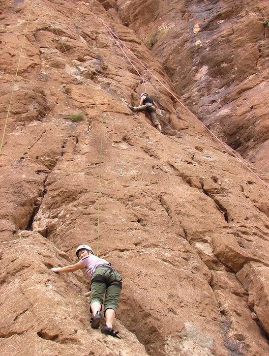 Rock Climbing in Todra Gorge
