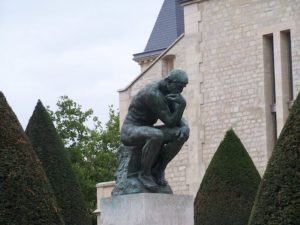 Places we Have Slept The Thinker by Rodin