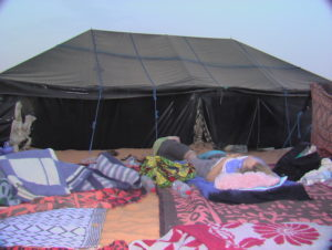 Places we Have Slept the Sahara Desert