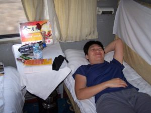 Places we Have Slept the Sleeper Train to Datong