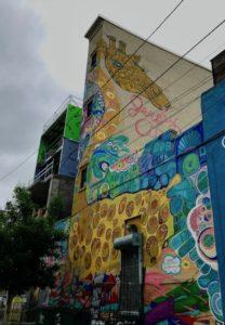Jersey City Street Art Mural by Catherine Hart