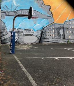 Jersey City Street Art Mural by Fermin Mendoza