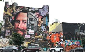 Jersey City Street Art Mural by Gaia