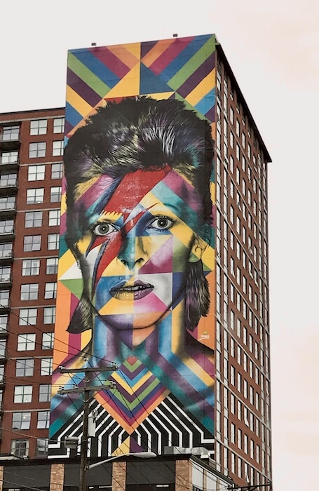 Jersey City Street Art Mural by Eduardo Kobra