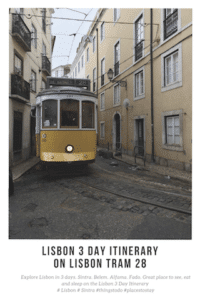 Lisbon 3 Day Itinerary