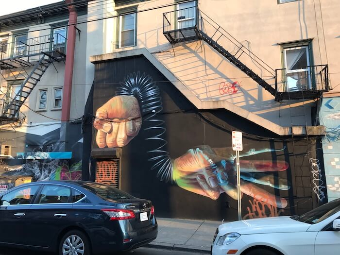 Jersey City Street Art Mural by Case Ma'Claim