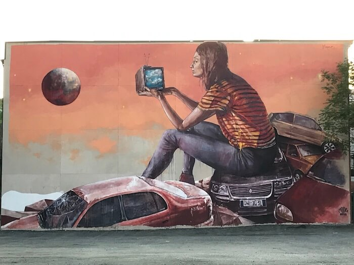 Jersey City Street Art Mural by Fintan McGee