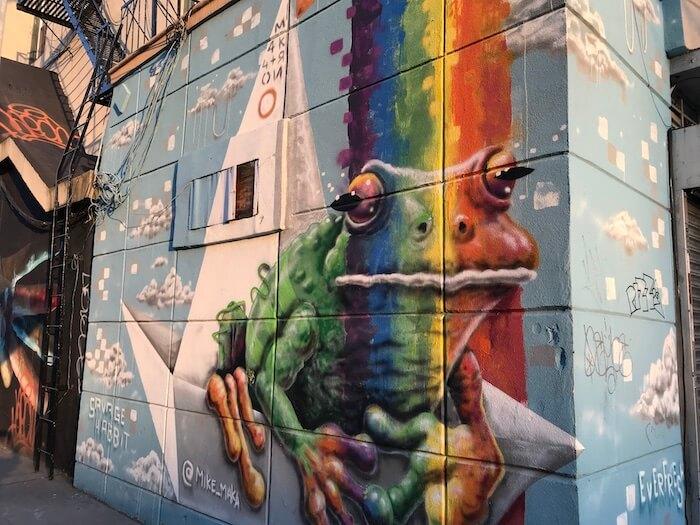 Jersey City Street Art. Mike Maka Mural