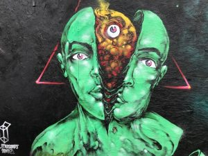 Jersey City Street Art Mural by Mustart