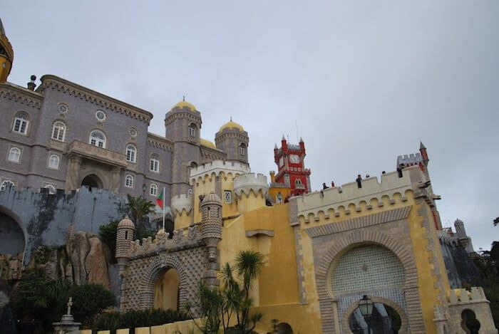 Lisbon 3 Day Itinerary Sintra Pena Palace