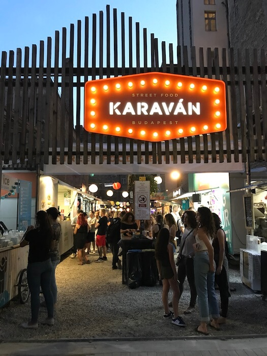 Karavan Street Food. Best of Budapest 4 Day Itinerary