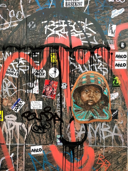 LA Wall by Mural Artist LMNOPi