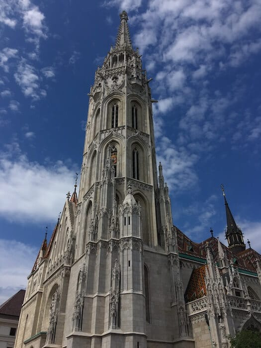 Matthias Church. Best of Budapest 4 Day Itinerary