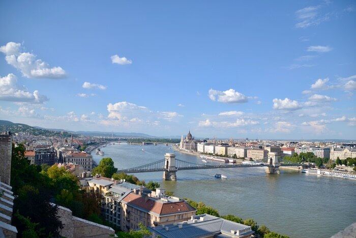 View of Danube. Best of Budapest 4 Day Itinerary