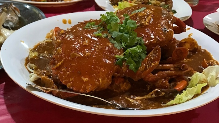 Chili Crab Crazy Rich Asians Singapore