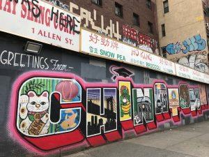 Chinatown Street Art at 1 Allen Street