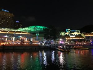 Clarke Quay Crazy Rich Asians Singapore
