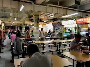 Kreta Ayer Hawker Center Crazy Rich Asians Singapore