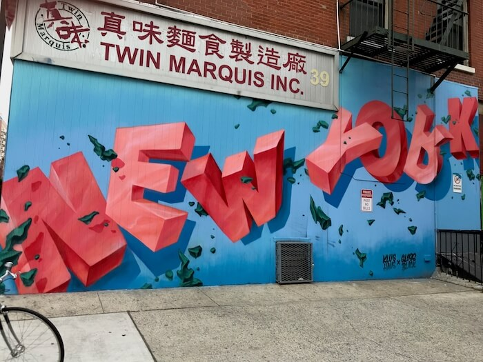 New York Street Art Best Street Art and Dim Sum in Chinatown NYC