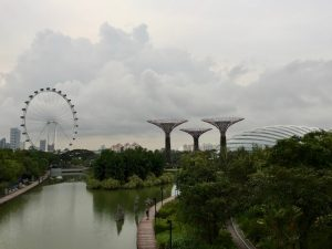 Singapore Eye and Gardens by the Bay Crazy Rich Asians Singapore