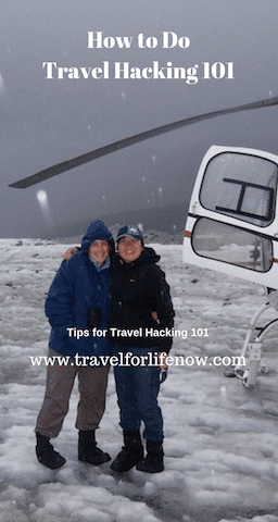 Read this Travel Hacking 101 Guide to learn about the best travel hacking credit cards and strategies. Start earning Free Flights and Hotels. #travelforlifenow #travelhacking