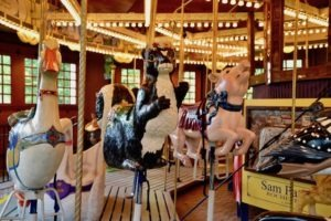 Empire State Carousel. Farmers Museum. Cooperstown NY