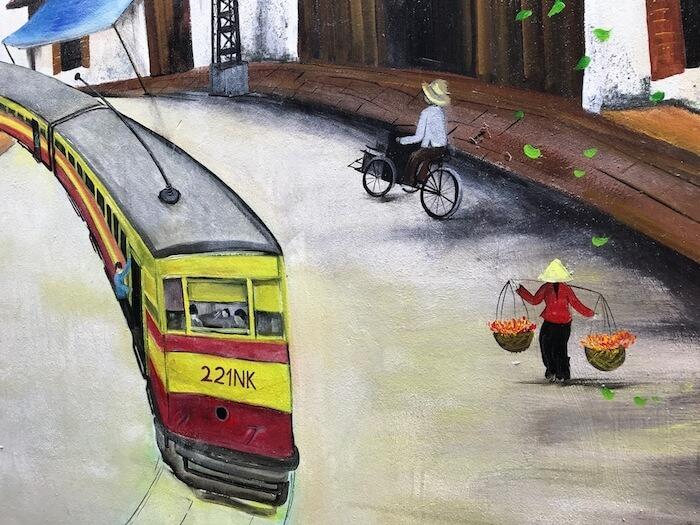 Hanoi Highlights Street Art