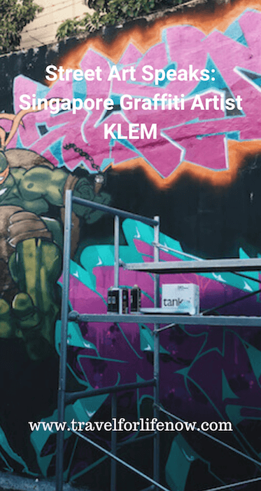 Singapore is an unlikely place to find graffiti. Caning and Prison are the penalties. Hear from local Graffiti Artist KLEM about Singapore Graffiti. #travelforlifenow #visitsingapore