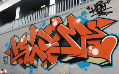 Street Art Speaks: Meet KLEM Graffiti Artist Singapore