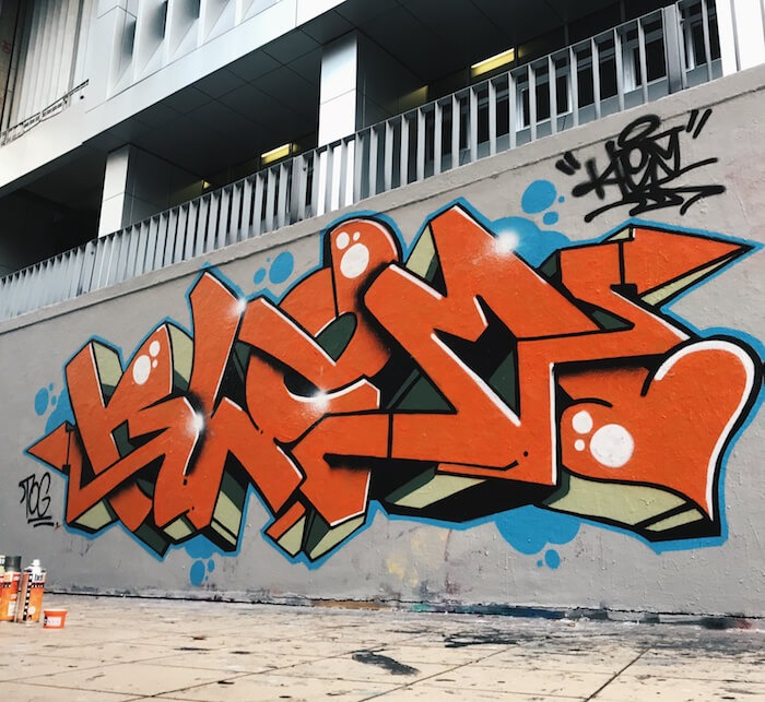 Street Art Speaks: Meet KLEM Graffiti Artist Singapore