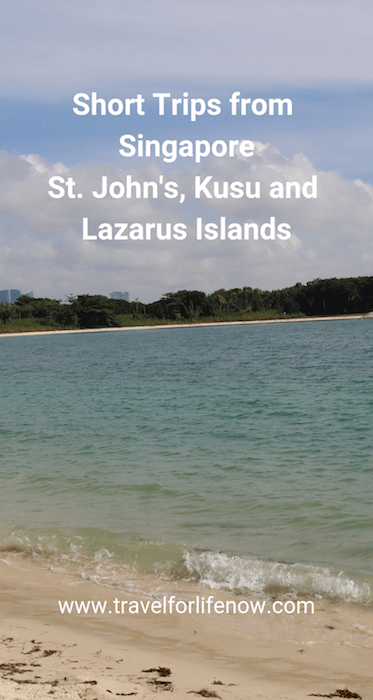 Secret Day Trip from Singapore. Wonder where the locals go to swim and fish? St. John's, Lazarus & Kusu Islands. Cheap & Easy Short Trips from Singapore. #travelforlifenow #VisitSingapore #SingaporeIslands