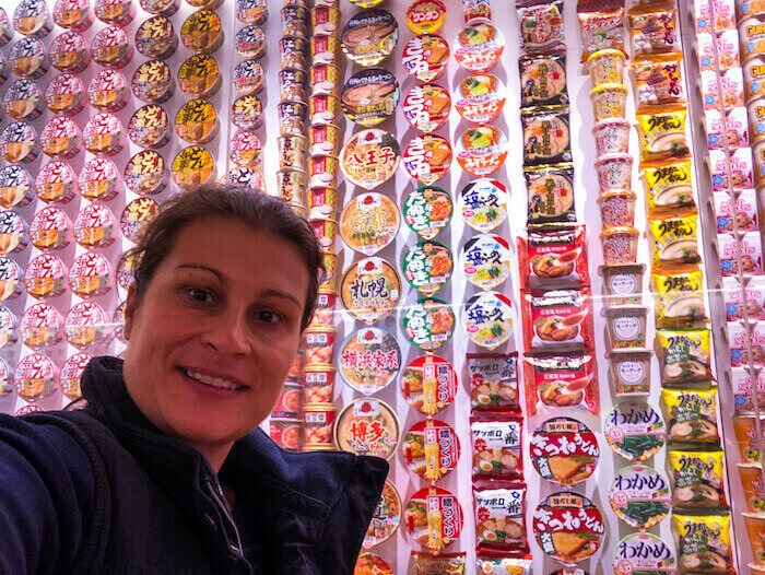 Cup of noodle Soup Museum. Photo by Paula Barnes, The Travelling Expat
