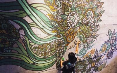 Street Art Speaks: Cambodia's First Female Street Artist Lisa Mam & NZ Artist Peap Tarr