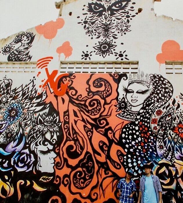 Mam & Tarr Mural