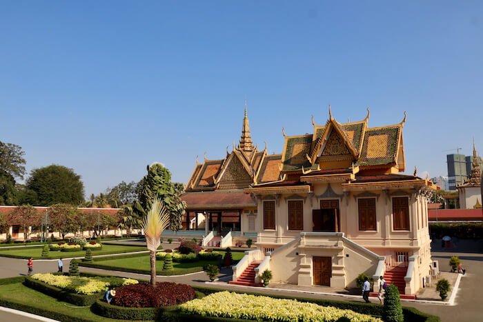 Royal Palace. Phnom Penh Itinerary for 5 Days in Cambodia & Best Getaway from Singapore