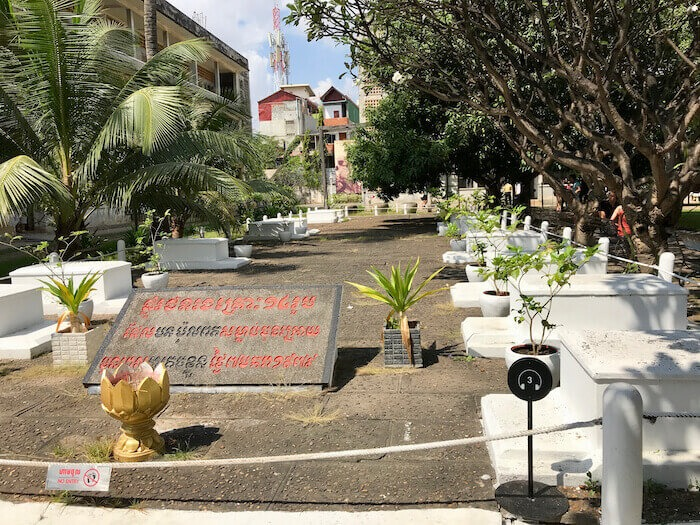 Graves at S-21. Phnom Penh Itinerary for 5 Days in Cambodia & Best Getaway from Singapore