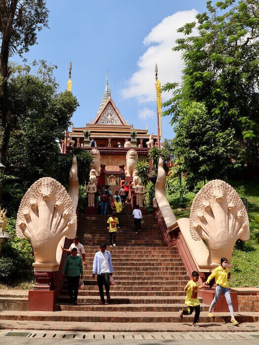 Wat Phnom Phnom Penh Itinerary for 5 Days in Cambodia & Best Getaway from Singapore