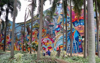 Best Street Art in Singapore—Little India, Chinatown,  & Haji Lane Street Art