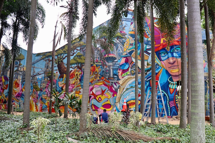 Best Street Art in Singapore—Little India, Chinatown,  & Haji Lane Street Art