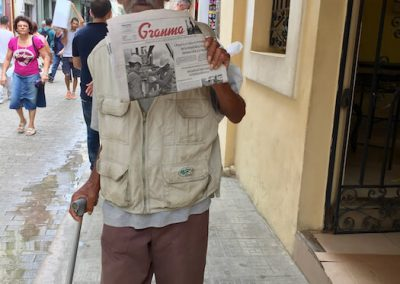 Still Selling Granma Newspaper