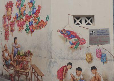 YC Yip Chinatown Mural