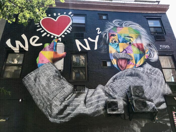 Chelsea Korba Mural Einstein