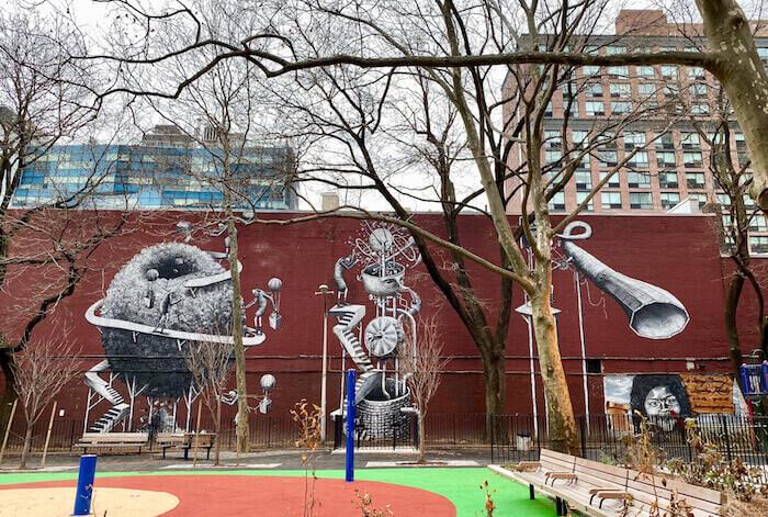 Fulton Street Mural Project Chelsea NY