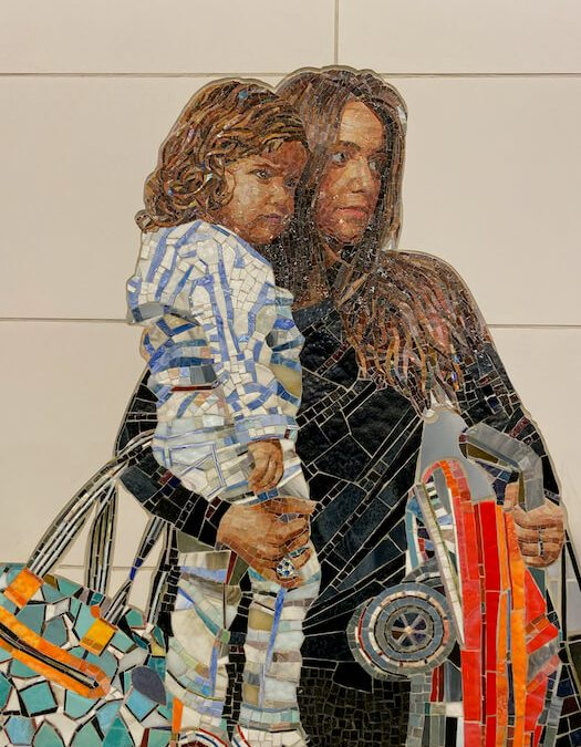 Perfect Strangers by Victor Muniz Mom & Child