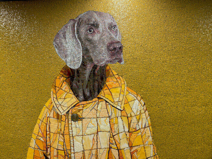 Subway Art William Wegman