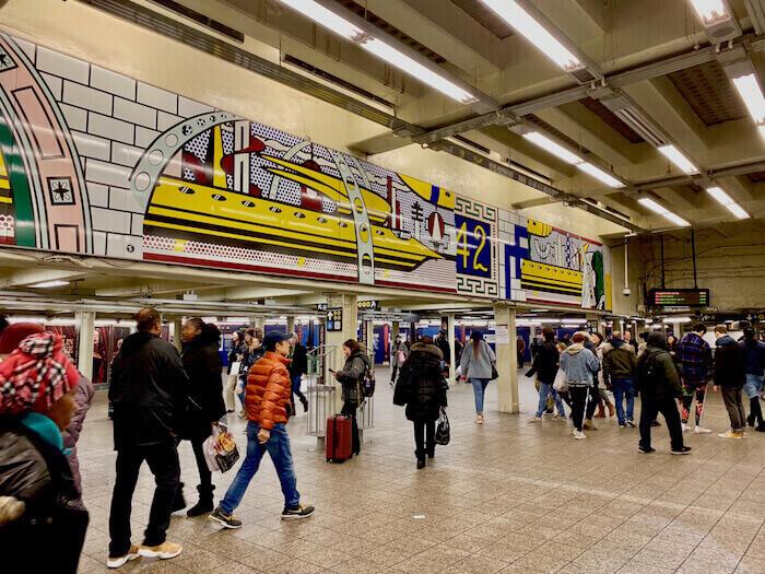 NYC Subway Times Square