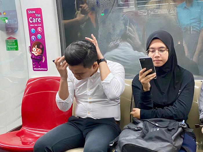 MRT Singapore #StandUpStacy